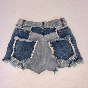 Revice ziggy denim shorts